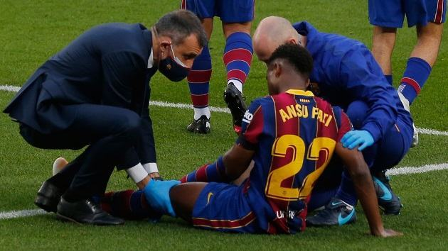 Dr. Ripoll: Ansu Fati could be out for three to five months - Bóng Đá