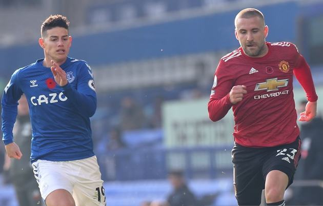 Luke Shaw has registered assists in back-to-back appearances and has his first in the Premier League in 31 appearances - Bóng Đá