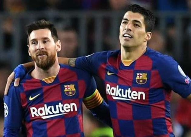 Suarez: I won't tell Messi to join Atletico after Barcelona exit - Bóng Đá