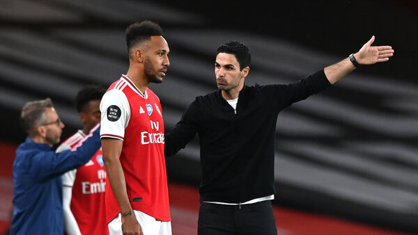 Pierre-Emerick Aubameyang claims Arsenal situation with Mikel Arteta has been resolved - Bóng Đá